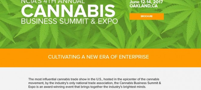 Marijuana Increases Trade Show Registrations