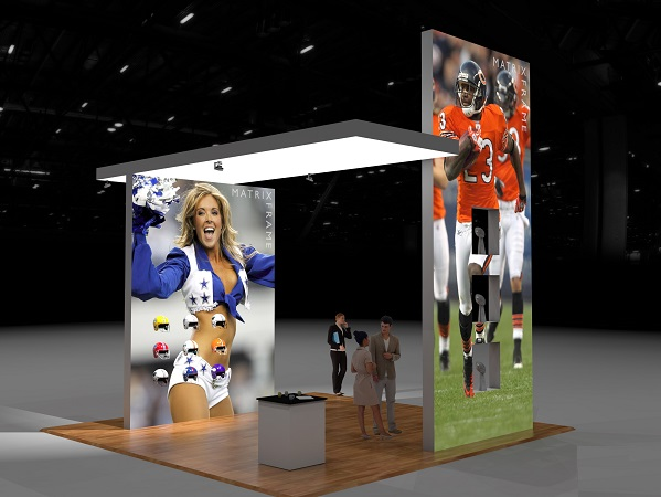 Matrix Frame Exhibit Displays