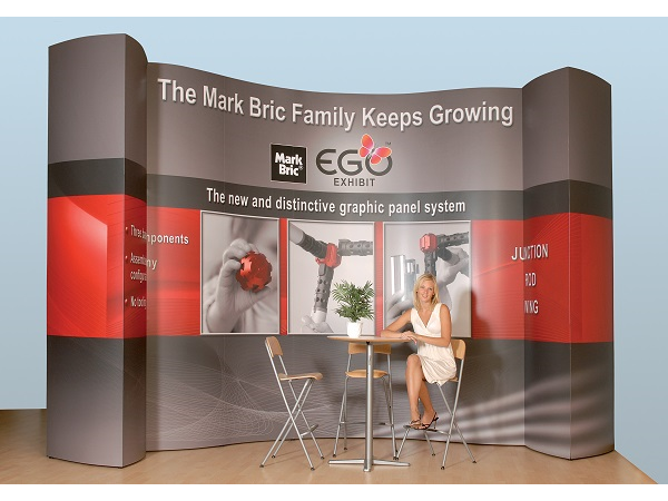 10' x 10' mark bric ego wall Display