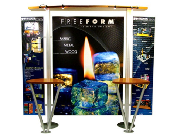 10' x 10' laarhoven freeform Display