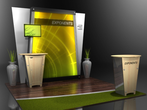 10' x 10' exponent L2 Linear Display