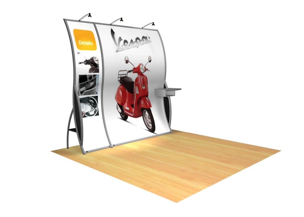 10' x 10' classic perfect10 Display