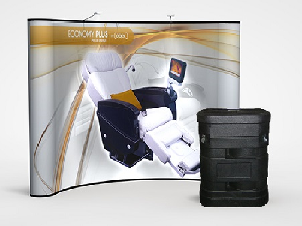 10' x 10' abex pop-up Display