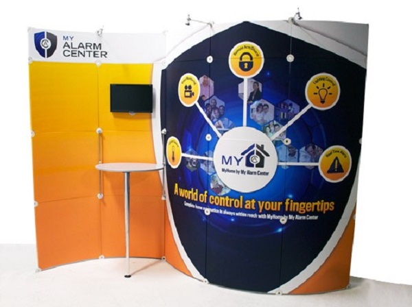 10' x 10' tigerLite exhibit Display