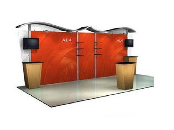 10' x 20' abex alumalite Classic Display