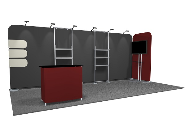 10 X 20 Tradeshow Displays 20 Trade Show Display