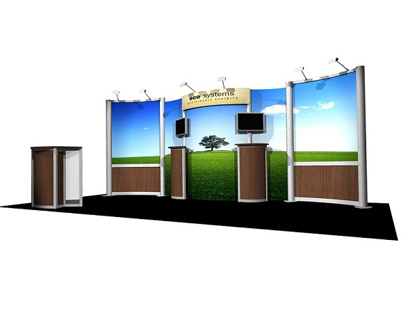 10' x 20' Eco solo10x20 Display
