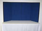 Blue 4 Panel Tabletop
