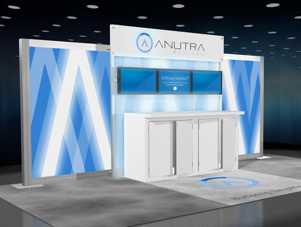 20' Anutra Rental Display