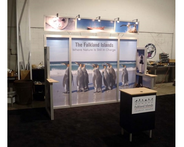 Used Trade Show Booth : Used abex al hybrid trade show display